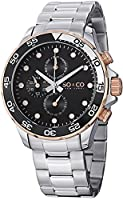 SO&CO York Men's 5014.3 Yacht Club Analog Display Analog Quartz Silver Watch by SO&CO New York