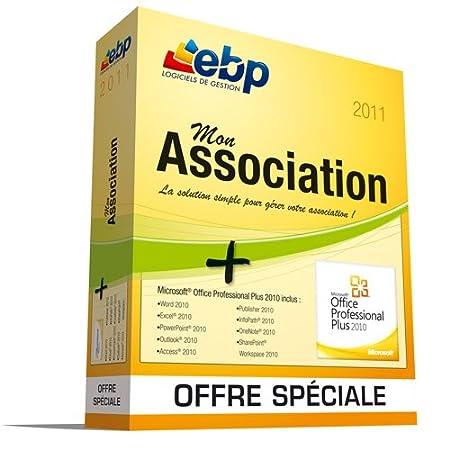 EBP Mon Association 2011 + offre spéciale MS Office 2010