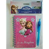 "Disney Frozen Stationery Set With Pen(60 Sheets)- ""HOPE For The Kingdom"""