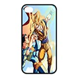 Custom Dragon Ball Z Goku and Superman TPU Case for Iphone 4/4s