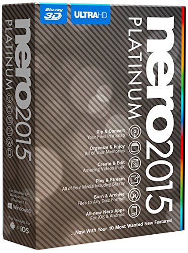 Nero 2015 Platinum (Dvd Authoring Software compare prices)