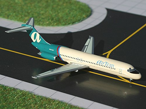 1:400 Gemini Jets Douglas DC-9-30 AirTran Reg #N837AT (pre-painted/pre-built) (Airtran Model compare prices)