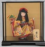 ひな人形 ケース入り童人形 佳宗0905E8号 わらべ人形 末広 ti-sk0905e 【ちぐさや、オリジナル】