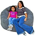 Cozy Sack 4-Feet Bean Bag Chair, Larg...