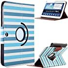 Pandamimi ULAK PU Leather 360 Rotating Case Cover for Samsung Galaxy Tab3 10.1 2013 Version Tablet P5200 P5210 with Auto Sleep/Wake function (Stay)(NOT Fit Note 10.1)