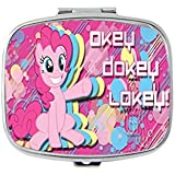 Okey Dokey Lokey Pinkie Pie, My Little Pony Unique Custom Design Pill Box Medicine Tablet Organizer Dispenser...