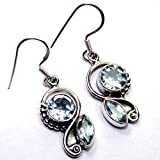 Admyro Silver Traditional design silver earrings AZE303