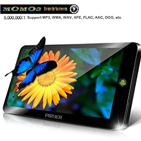 Momo3 7 inch Resistive Touch Screen MID Google Android 2.2 OS Wifi 3G Tablet Computer (Black)