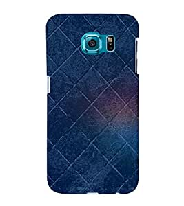 Square Pattern 3D Hard Polycarbonate Designer Back Case Cover for Samsung Galaxy S6 Edge+ G928 :: Samsung Galaxy S6 Edge Plus G928F