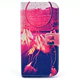 HPYHero® NEW STYLE elegant Fashion Style and Deluxe Book Style Folio Stand Pu Leather Wallet with Magnet Design Flip Case Cover, Credit Card Holder for iphone 5C