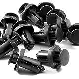 Able Provider X40 Hi-Density Nylon Bumper Fender Clips for Select Honda Models, Black