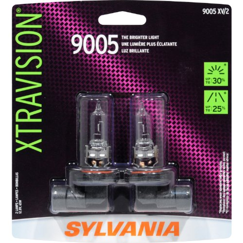 Sylvania 9005 Xv Xtravision Halogen Headlight Bulb (High Beam), (Pack Of 2)