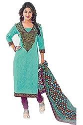 Gugaliya Women's Unstiched Superior Cotton FASHION SALWAR,KAMEEZ & DUPATTA Suit ( P516 )