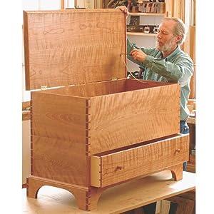fine woodworking blanket chest plans