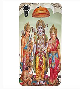 ColourCraft Lord Rama Design Back Case Cover for HTC DESIRE 626s