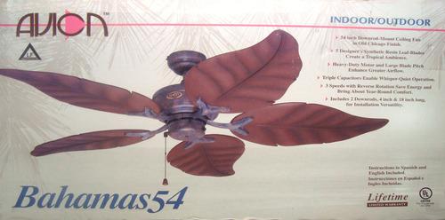 Avion bahama leaf ceiling fan glass incetehol19s soup ceiling fan sale save on ceiling fans for aloadofball Choice Image