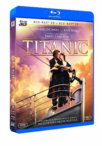 Titanic (Ed. 4 discos: 2 discos BluRay  3D +