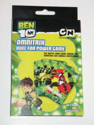 Ben 10 Omnitrix Duel for Power Card Game - 1