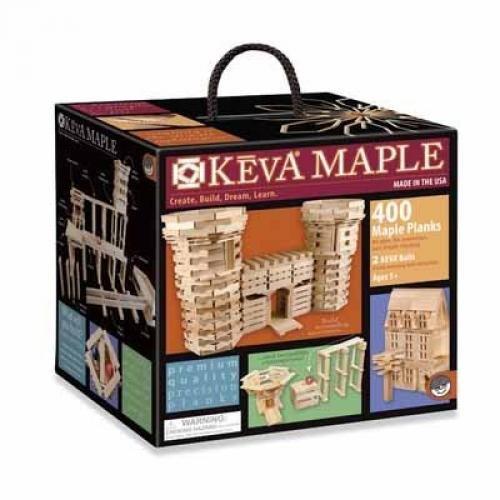 Keva Maple 400 Plank Set front-740749