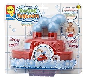 Cuckoo Alex Rub A Dub Tooting Tugboat Bath Toy