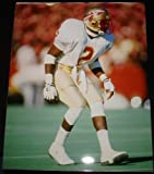 Deion Sanders Florida State Seminoles White Jersey 8 x 10 Photo at Amazon.com