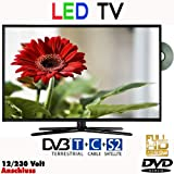 Reflexion LDD2267, LED Fernseher 22 Zoll 55 cm, DVB-S /S2, DVB-T, DVB-C, DVD, USB, 230V +12Volt, Energieeffizienzklasse B