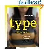 Type on screen /anglais