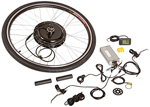 Aosom-Rear-Wheel-48V-1000W-Electric-Battery-Powered-Bicycle-Motor-Conversion-Kit-with-LCD-Display