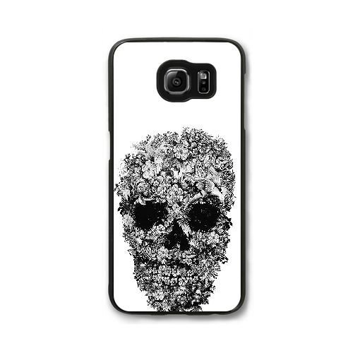 samsung-galaxy-s7-edge-universal-mobile-phone-shell-skull-with-flowers-pattern-black-and-white-by-al