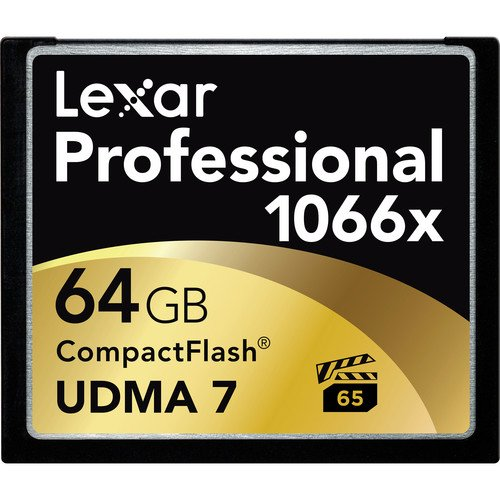 Why Should You Buy Lexar Professional 1066x 64GB VPG-65 CompactFlash card (Up to 160MB/s Read) w/Fre...