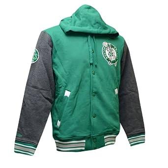 Boston Celtics Mitchell & Ness NBA 2nd Quarter Hooded Fleece Jacket by Mitchell & Ness