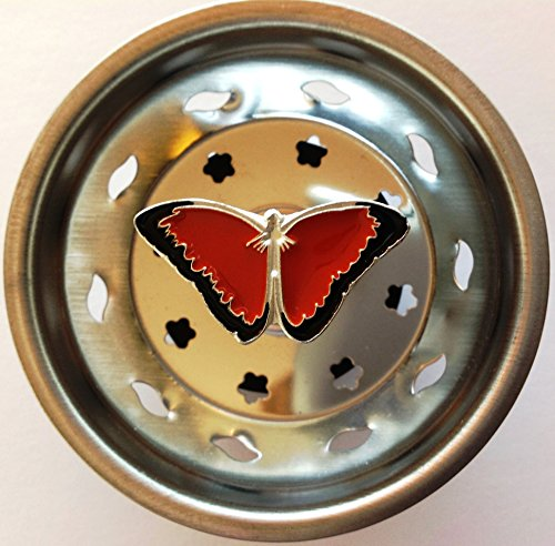 Decorative Butterfly Sink Strainer