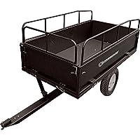 Strongway Steel Dump Cart - 1,200-Lb. Ca...