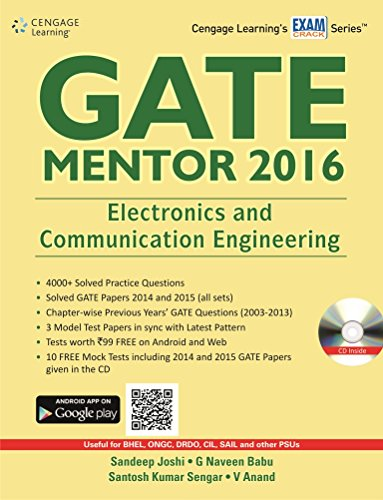 GATE Mentor 2016: Electronics and Communication Engineering