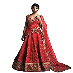 Indian Party wear Lehenga Choli Dupatta Ceremony Collection Bridal Wedding Wear5056