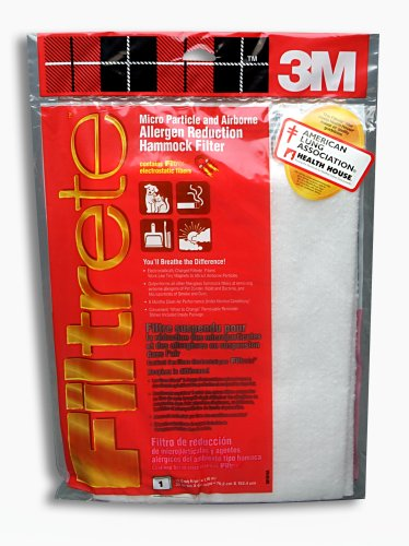 3M Filtrete 9818NA Micro Allergen Reduction Filter, 1000 MPR, 30-Inch by 60-Inch by 1 inch, 4-Pack
