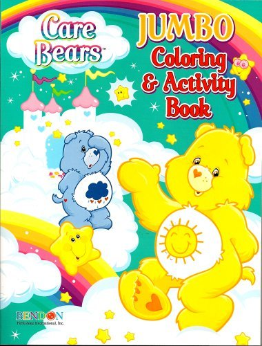 Care Bears Jumbo Coloring & Activity Book ~ Funshine and Grumpy (96 Pages) - 1