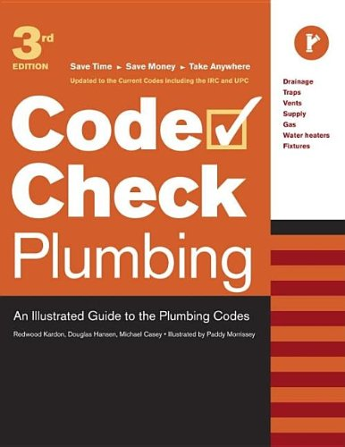 Code Check Plumbing - 3rd Edition - Taunton Press - RC-T070862 - ISBN:156158813X