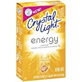 Crystal Light On The Go Energy Citrus, 10-Count Boxes (Pack of 10) by Crystal Light