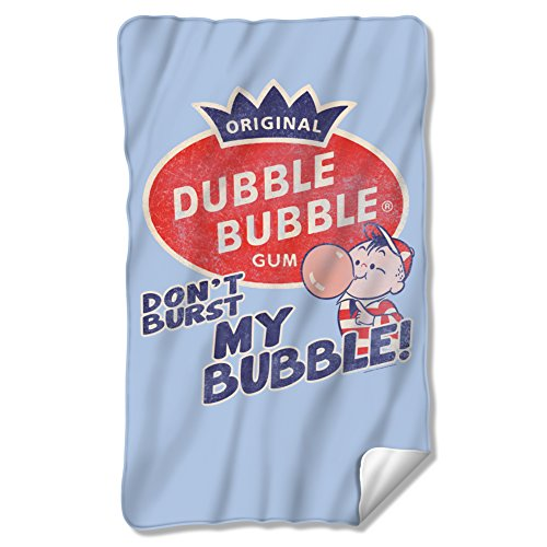 Dubble Bubble Burst Fleece Blanket DBL153BKT