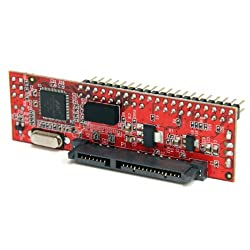 StarTech.com 2.5 Inch and 3.5 Inch 40 P Inch Male IDE to SATA Adapter Converter (IDE2SAT)