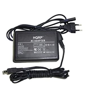 HQRP AC Chargeur pour JVC AP-V30, AP-V30U, AP-V30E; GZ-MS230, GZ-HM300, GZ-HM320, GZ-HM570, GZ-MS110 Caméscope