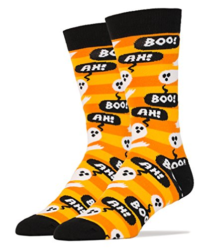 Men's Luxury Combed Cotton Crew Ghost Socks