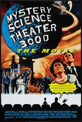 Mystery Science Theater 3000 Stk3K Poster #01 24x36in
