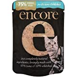 Encore Cat Pouch Tuna and Whitebait 70 g (Pack of 16)