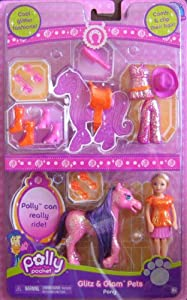 Polly Pocket Glitz & Glam Pony & Pets Superset at Sears.com