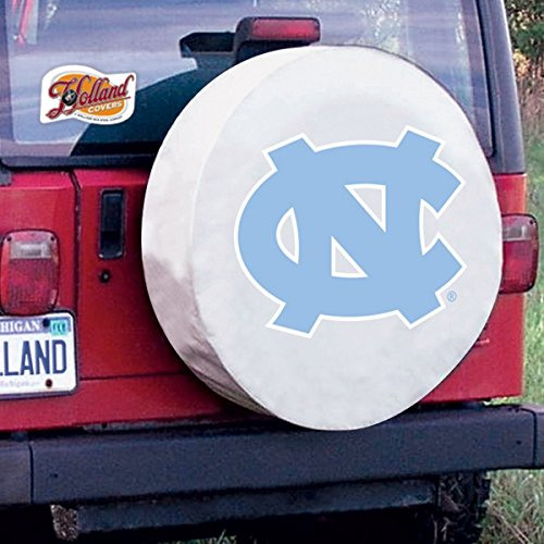 North Carolina Tar Heels Tire Covers: D10 - 30.75 x 10 Inch (North Carolina Tire Cover compare prices)