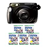 Fujifilm INSTAX 210 Instant Photo Camera Kit with 5 Twin Pack of INSTAX Film ~ Fujifilm