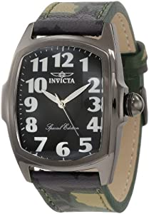 Invicta Men's 1026 Lupah Camouflage Interchangeable Strap Watch Set