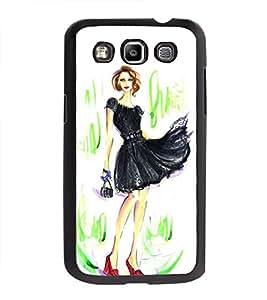 Printvisa Ultra Fashionable Girl 2D Hard Polycarbonate Designer Back Case Cover for Samsung G...